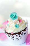 Wedding cupcake Stock Photos