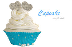 Wedding cupcake Royalty Free Stock Photography