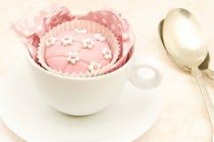 Wedding cupcake Royalty Free Stock Images