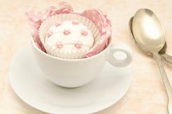 Wedding cupcake Royalty Free Stock Photography