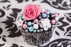 Wedding cupcake Stock Photo