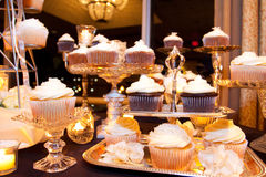 Wedding Cupcakes Stock Photos