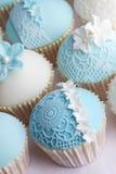 Wedding cupcakes royalty free stock photography