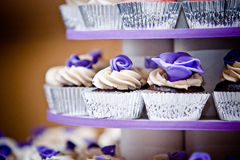 Free Wedding Cupcakes Stock Photography - 35335812