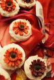 Wedding cupcakes Stock Image