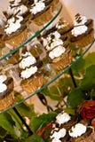 Wedding cupcakes royalty free stock photo