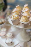 Wedding cupcakes Royalty Free Stock Image