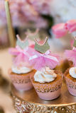 Wedding cupcakes Royalty Free Stock Photo