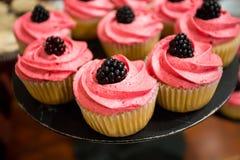Wedding Cupcakes at Reception Royalty Free Stock Image