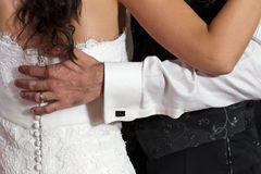 Wedding d'abord la danse Images libres de droits