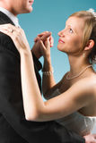 Wedding dance Royalty Free Stock Photos