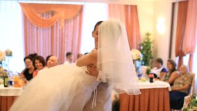 Wedding Dance stock footage