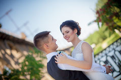Wedding dance Royalty Free Stock Image