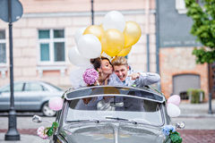 On a wedding day Royalty Free Stock Photo