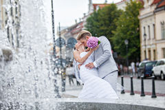 On a wedding day Stock Photography
