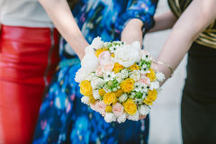 Wedding Day Bouquet Royalty Free Stock Photo