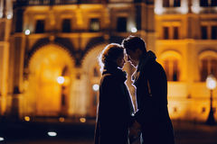 Wedding day in Budapest Stock Photography