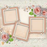 Wedding Day Card Royalty Free Stock Photography