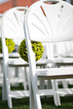 Wedding Day Chair Stock Photography