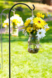 Wedding Day Floral Arrangements Royalty Free Stock Photo
