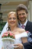 Wedding day h stock image