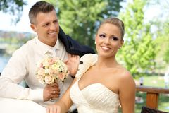 Wedding-day Royalty Free Stock Photography