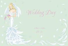 Wedding Day invitation Royalty Free Stock Photos