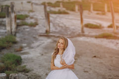 Wedding day in odessa Royalty Free Stock Photo
