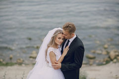 Wedding day in odessa Stock Photography