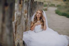 Wedding day in odessa Stock Photo