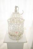 Wedding decor birdcage Stock Image