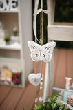 Wedding decor butterfly Royalty Free Stock Photos