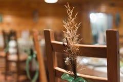 Wedding decor chair Stock Photos