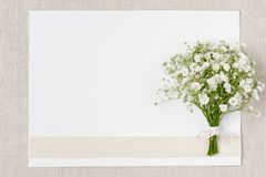 Wedding decor in ecological style Royalty Free Stock Images
