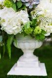 Wedding decor flowers. In a flowerpot stock image