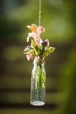 Wedding decor flowers Stock Photos