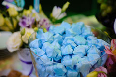 Wedding decor sweets Royalty Free Stock Image