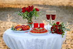 Wedding decor Royalty Free Stock Photography