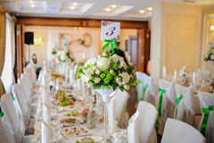 Wedding decor trends Stock Image