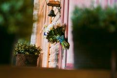 Wedding decor wall Stock Photography
