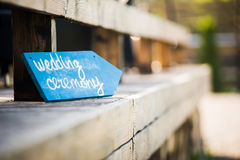 Wedding decor wedding ceremony Royalty Free Stock Photos