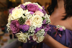 Wedding decoration. Flowers for a wedding decoration Stock Photo