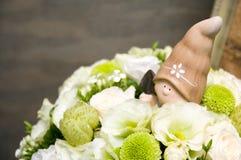 Wedding decoration stock photo