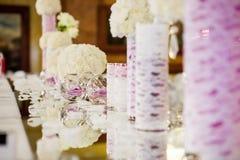 Wedding decoration Stock Photography