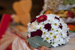 The wedding decoration. On a beautiful background Stock Images