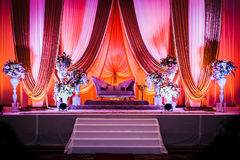 Wedding Decoration. For the couple's seating Royalty Free Stock Photos