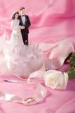 Wedding decoration. A photo of wedding decoration Stock Photos