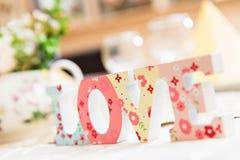 Wedding decoration details stock image