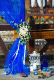 Wedding decoration details Royalty Free Stock Image