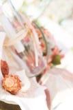 Wedding decoration details, tropcal wedding. Set up Royalty Free Stock Photos